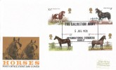 1978 Shire Horse Society, Post Office FDC, The Salvation International Congress Wembley H/S.