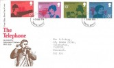 1976 Telephone, Post Office FDC, Taunton Somerset FDI.