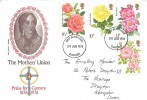 1976 Roses, The Mothers' Union FDC, Oxford FDI.