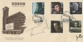 1985 British Films, Covercraft Odeon Leicester Square FDC, First Day of Issue London WC H/S, Signed by Actor Jeremy Irons.