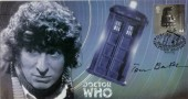 2000 Doctor Who Tardis Cover. Signed by Tom Baker