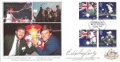 1988 Australian Bicentenary, Covercraft Official FDC, Australian Bicentenary London EC H/S, Signed by Evonne Goolagong Cawley