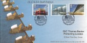 1983 Engineering, Covercraft Official GLC/ILEA Staff Edition FDC, The GLC Thames Barrier Protecting London Woolwich Reach SE7 H/S
