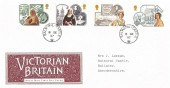 1987 Victorian Britain, Royal Mail FDC, Balmoral Castle cds