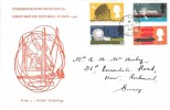 1966, British Technology, Holmes Tolley FDC, Kew Road Richmond Surrey cds