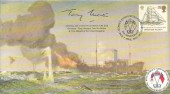 1992, Europa, Covercraft Official FDC, 39p Stamp only, 75th Anniversary King George's Fund for Sailors London SW1 H/S. Signed by Admiral Sir Anthony Morton GBE KCB