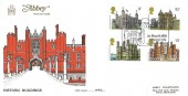 1978 Historic Buildings, Abbey FDC, Britain's Royal Heritage Hampton Court Palace Kingston Upon Thames H/S.