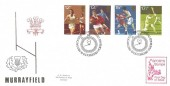 1980, Sporting Anniversaries, Bradbury Murrayfield FDC, First Day of Issue Philatelic Bureau Edinburgh H/S, Sports Stamps Cachet