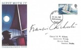 1967, Sir Francis Chichester, GPO FDC, Portsmouth FDI, Signed by Sir Francis Chichester.