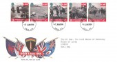 1994 D Day, Royal Mail FDC, Buckingham Palace SW1A 1AA cds.