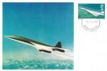 1969 Concorde, Set of 3 Stamp Publicity Maxi Cards, Filton Bristol FDI