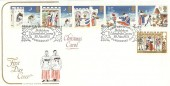 1973, Christmas, Cotswold FDC, First Day of Issue Bethlehem Llandeilo Carms H/S