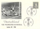 1966, World Cup Football, Vize - Weltmeister Football Card, Deutschland Fussball Bonn1 H/S
