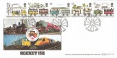 1980,  Liverpool & Manchester Railway, Benham BOCS 18 FDC, First Day of Issue Liverpool H/S