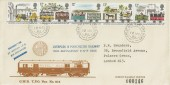 1980, Liverpool & Manchester Railway, Didcot Railway Centre FDC, Great Western TPO Down cds