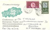1961 Parliamentary, CEPTA Europa FDC, Dalmally Argyll cds