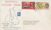 1963 Nature Week, Newlands Road Philatelic Society FDC, Tunbridge Wells Kent cds