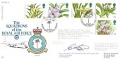 1993 Orchids, Royal Air Force RAF FDC 10 Official FDC, 79 Years of Service No.30 Squadron British Forces 2348 Postal Service H/S, Signed by Wing Commander A P T Main