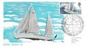 1967, Sir Francis Chichester, Maximum Card, Sir Francis Chichester Plymouth Devon H/S