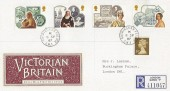 1987 Victorian Britain, Registered Royal Mail FDC, Buckingham Palace SW1 cds
