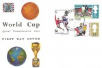 1966 World Cup Connoisseur FDC, First Day of Issue Wembley FDI