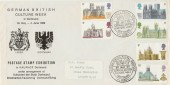 1969 British Cathedrals German British Culture Week Official FDC