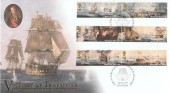 2005 Trafalgar, Buckingham Covers No.225m Official FDC, HMS Victory Built at Chatham Naval Dockyard Chatham H/S
