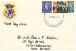 1965 Salvation Army, Handmade FDC, 3d Stamp only + additional 1d, Cardiff FDI