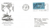 1963 Compac, Illustrated Souvenir FDC, 15th Anniversary Declaration of Human Rights Sutton Coldfield Slogan