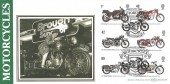 2005  Motorcycles, Benham BLCS306b Brough Superior Official FDC, Motorcycles Nottingham H/S