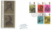 1970 Literary Anniversaries, Post Office FDC, E78 Chigwell Essex H/S