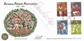 1980, Sporting Anniversaries, Benham BOCS 23 Official FDC, 100th Anniversary Amateur Athletic Assn, Crystal Palace H/S, Signed by Sebastian Coe