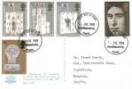 1969 Prince of Wales Investiture, J Arthur Dixon Ltd. Caernarvon 1969 Postcard, Wolverhampton Staffs. FDI