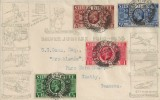 1935, King George V Silver Jubilee, Robson Lowe FDC, Hull Yorks. cds