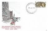 1965 700th Anniversary of Parliament (Phosphor) FDC, Evesham Worcs FDI