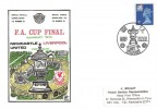 1974, FA Cup Final Newcastle United v Liverpool, Dawn Football Cover, The FA Cup Final Wembley H/S