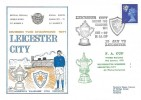 1972, Leicester City Division Two Champions 1971, Dawn Football Cover, Leicester City Division Two Champions Kick Off in FA Cup Leicester H/S