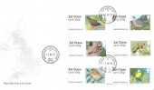 2010 Post & Go British Birds First Edition, Special Delivery Royal Mail Post & Go FDC, Wrens Nest Dudley West Mids. cds