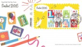 2015 Smilers Refresh, Royal Mail FDC, Smilers 2015 Lover Salisbury H/S