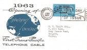 1963 Commonwealth Cable (Compac), Illustrated FDC, First Day of Issue London EC Slogan