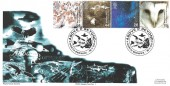 2000 Above & Beyond, Royal Naval Covers Official FDC, Above & Beyond North Berwick H/S