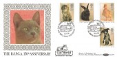 1990 RSPCA, Benham BLCS49 Official FDC, Cat World Honours The RSPCA 150th Anniversary Shoreham Sussex H/S