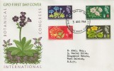 1964, Botanical International Congress Non-Phosphor FDC, First Day of Issue GPO Philatelic Bureau London EC1 H/S.