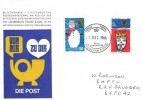 1966 Christmas, Garrison Stamp Club FDC, British Forces 1000 Postal Services British Stamp Exhibition  H/S