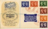 1940 Postage Stamp Centenary Exhibition London FDC