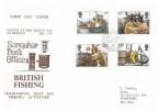 1981 Fishing, Sanquhar Post Office, Sanquhar Dumfriesshire cds