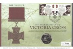2006 Victoria Cross, Westminster Official 50p Coin Cover, Victoria Cross for Valour Hyde Park London H/S