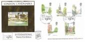 1980 London Landmarks, Benham BOCS 21 FDC, First Day of Issue London SW London 1980 H/S