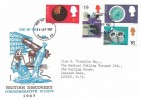 1967 British Discoveries, Philart FDC, Paddington W2 FDI