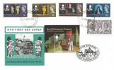1964 William Shakespeare Festival, GPO FDC, Stratford Upon Avon FDI, Doubled with 12th April 2011 Issue, William Shakespeare Waterside Stratford Upon Avon H/S